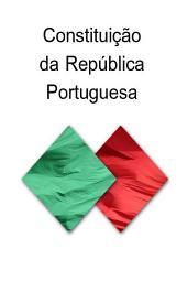 Constituicao da Republica Portuguesa (Portugal)