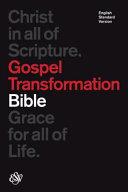 ESV Gospel Transformation Bible  Black  PDF