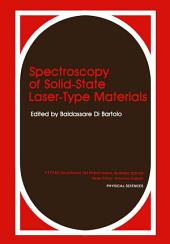Spectroscopy of Solid-State Laser-Type Materials