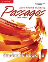 Passages Level 1 Student s Book B PDF