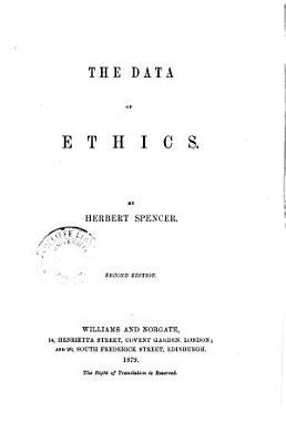 The Data of Ethics PDF
