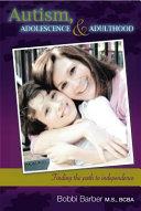 Autism Adolescence Adulthood Book PDF