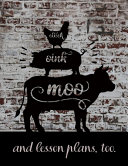 Cluck Oink Moo And Lesson Plans Too Book PDF