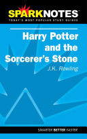Download Spark Notes Harry Potter and the Sorcerer s Stone Book
