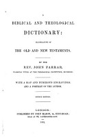 A Biblical and Theological Dictionary PDF
