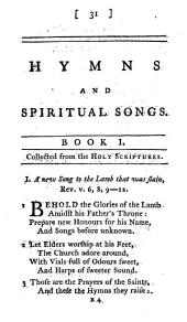 Hymns and spiritual songs. In three books, etc