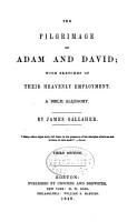 The Pilgrimage of Adam and David PDF
