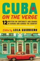Cuba on the Verge PDF