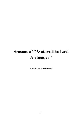 Seasons of   Avatar  The Last Airbender