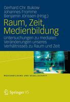 Raum  Zeit  Medienbildung PDF