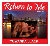 Return to Me: A Multicultural Romance (Part III)