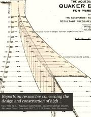 Reports on Researches Concerning the Design and Construction of High Masonry Dams PDF