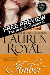 Amber: Free Preview — The First 25 Chapters (Chase Family Series)