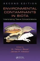 Environmental Contaminants in Biota PDF