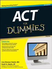 ACT For Dummies: Edition 5