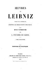 Œuvres de Leibniz: Volume3