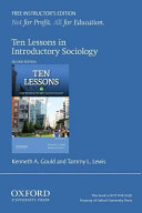Ten Lessons in Introductory Sociology Ie