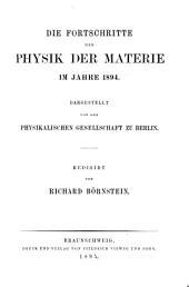 Die Fortschritte Der Physik: Volume 50, Issues 1-2