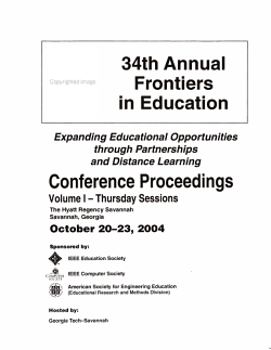 Expanding Educational Opportunities Through Partnerships and Distance Learning PDF