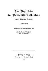 Der Laufner Don Juan: ein Beitrag zur Geschichte des Volksschauspiels, Ausgaben 1-4