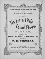 Tis But a Little Faded Flower PDF
