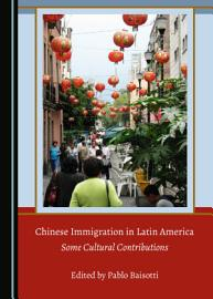Chinese Immigration in Latin America PDF
