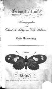 Schmetterlinge: Band 1