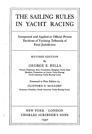 The Sailing Rules in Yacht Racing PDF