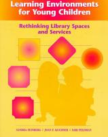 Learning Environments for Young Children PDF