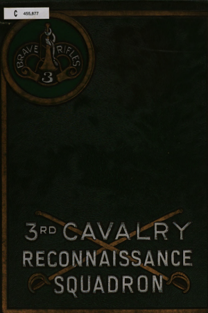 The 3rd Cavalry Reconnaissance Squadron (Mecz.) in World War II