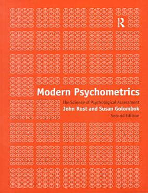 Modern Psychometrics PDF