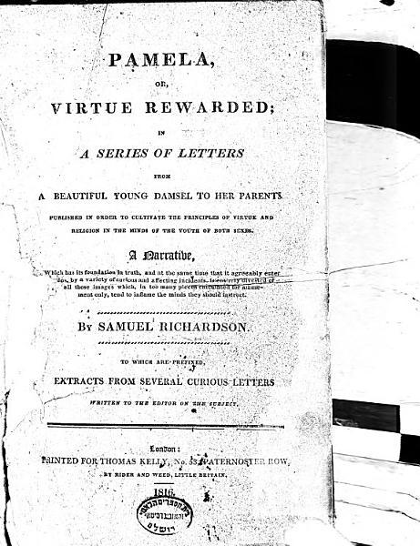 Download Pamela  Or  Virtue Rewarded Book