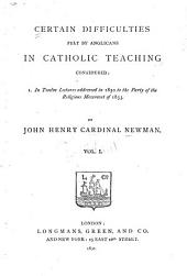 Twelve lectures addressed in 1850 to the party of the religious movement of 1833