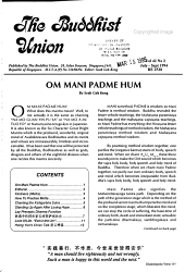 Buddhist Union Newsletter Book PDF