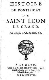 Histoire du pontificat de saint Léon le Grand: Volume1