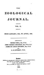 THE ZOOLOGICAL JOURNAL VOLUME II