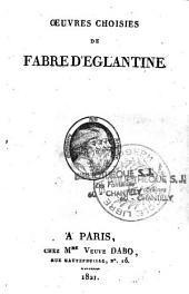 Oeuvres choisies de Fabre d'Eglantine