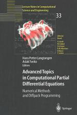 Advanced Topics in Computational Partial Differential Equations