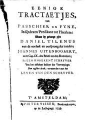 Korte verklaringe, over 't negende capittel van den brief des apostels Pauli, tot de Romeynen