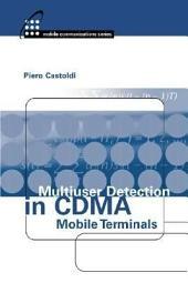 Multiuser Detection in CDMA Mobile Terminals