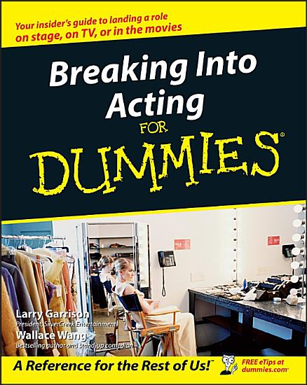 Breaking Into Acting For Dummies PDF