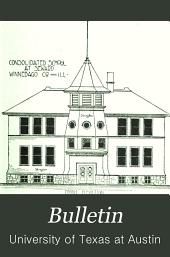 Bulletin: General series. [2 volumes of works on education bound together]., Volume 7; Volume 11; Volume 13; Volumes 15-21