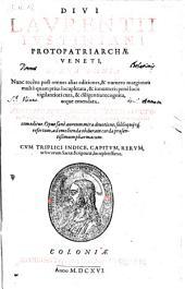 Opera omnia nunc recens ... recognita atque emendata (etc.)
