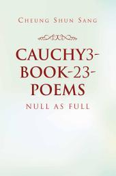 Cauchy3-Book-23-Poems
