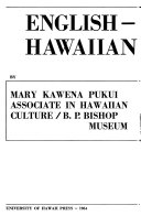 English Hawaiian Dictionary PDF