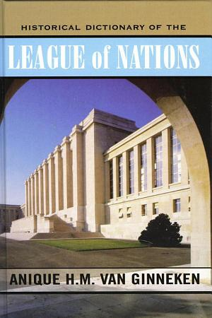 Historical Dictionary of the League of Nations PDF