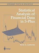 Statistical Analysis of Financial Data in S Plus PDF
