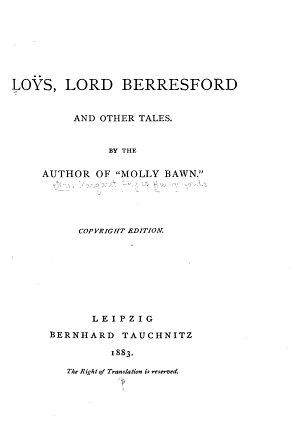 Lo  s  Lord Berresford PDF