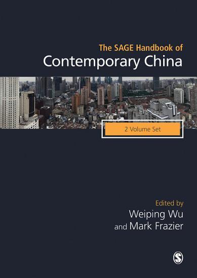 The SAGE Handbook of Contemporary China PDF