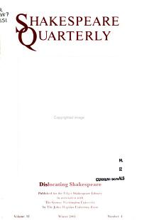 Shakespeare Quarterly PDF
